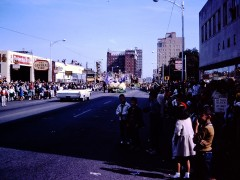 1963 Baylor University Homecoming Parade