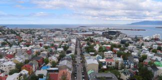 Reykjavik Aerial Photos