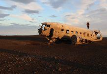 Iceland Plane Crash Photos